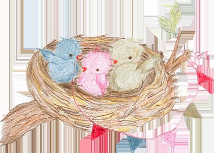 Het vrolijke nest