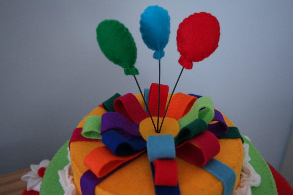Favoriete Verjaardagstaart van vilt - Het Vrolijke Nest SW-62