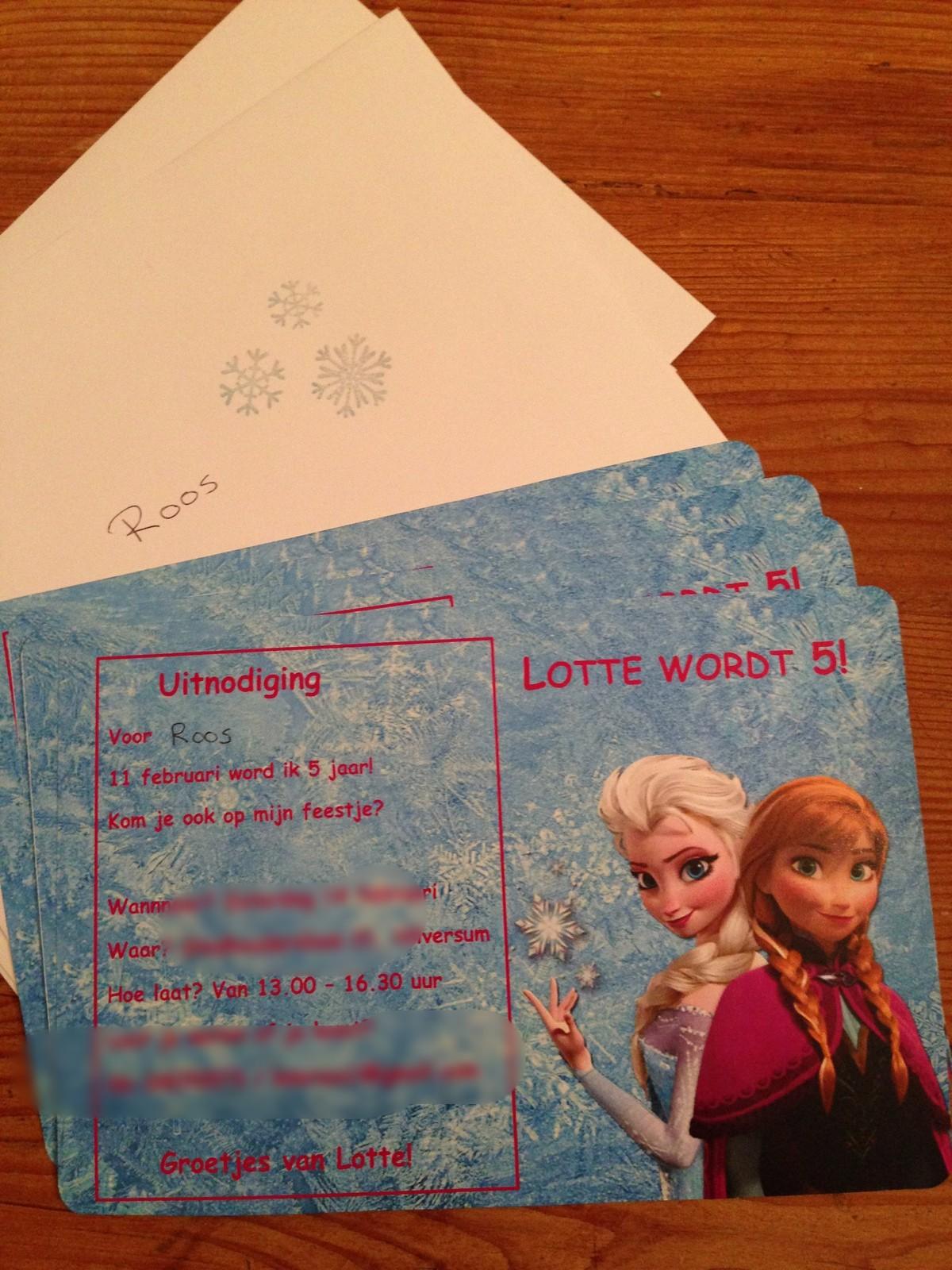 Uitgelezene Frozen feestje - Het Vrolijke Nest NG-12