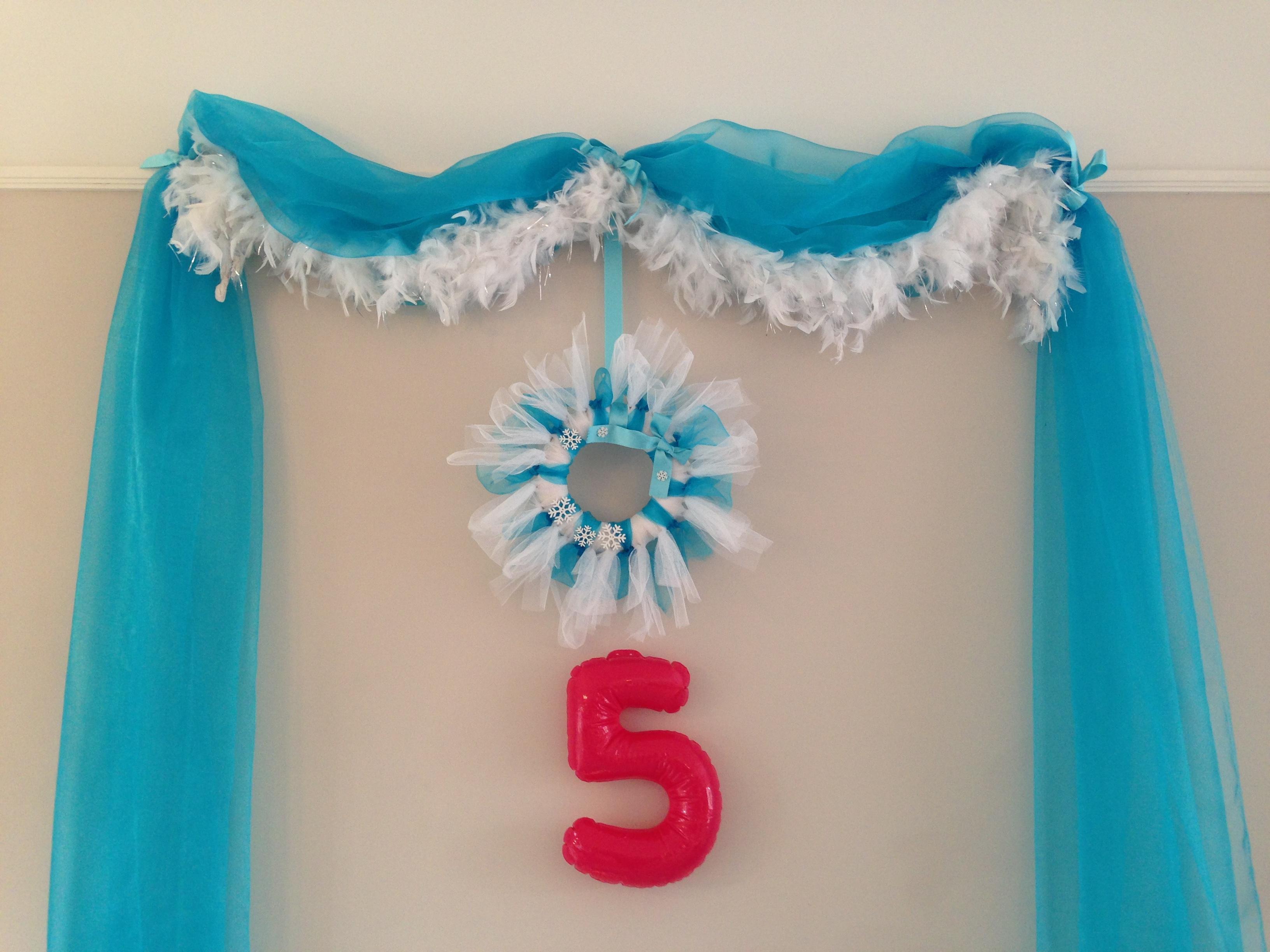Geliefde Frozen feestje - Het Vrolijke Nest #JM05