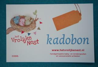kadobon- het Vrolijke Nest