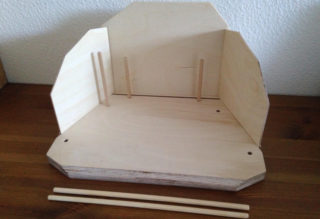 seizoenstafel van hout