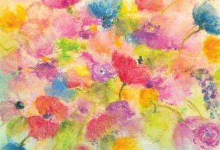 wilde bloemen in vaas
